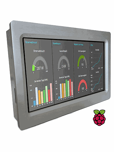 Automation Proces with PLC and Touchberry