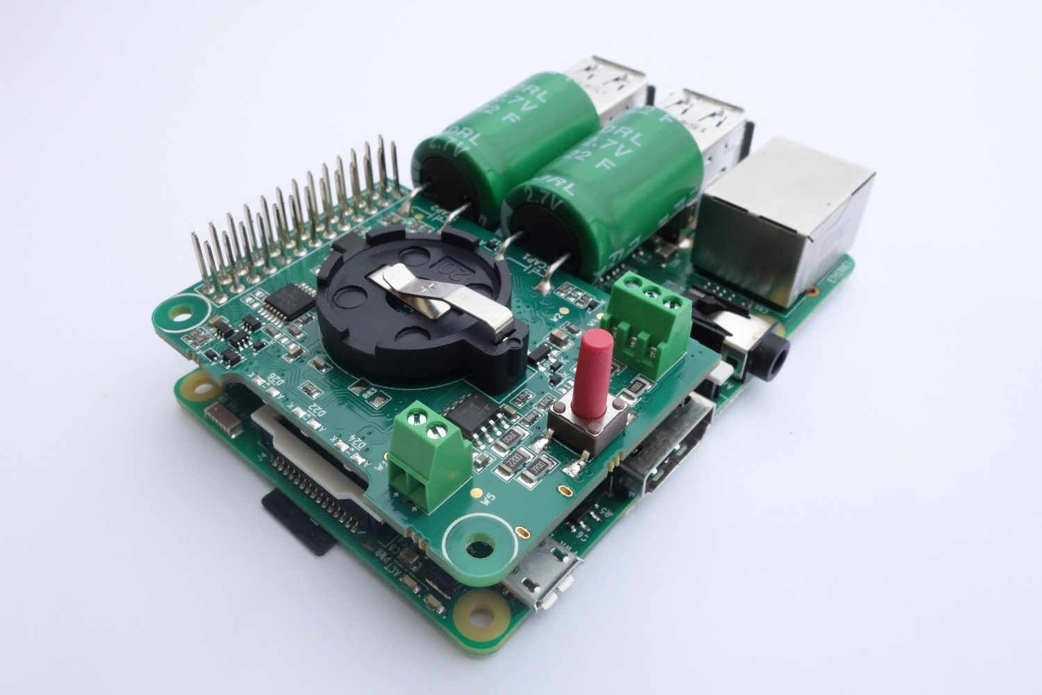 UPS Shield and the configuration that has to be done to the Raspberry Pi