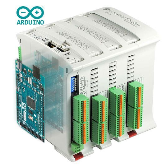 Industrial Shields open source based PLC