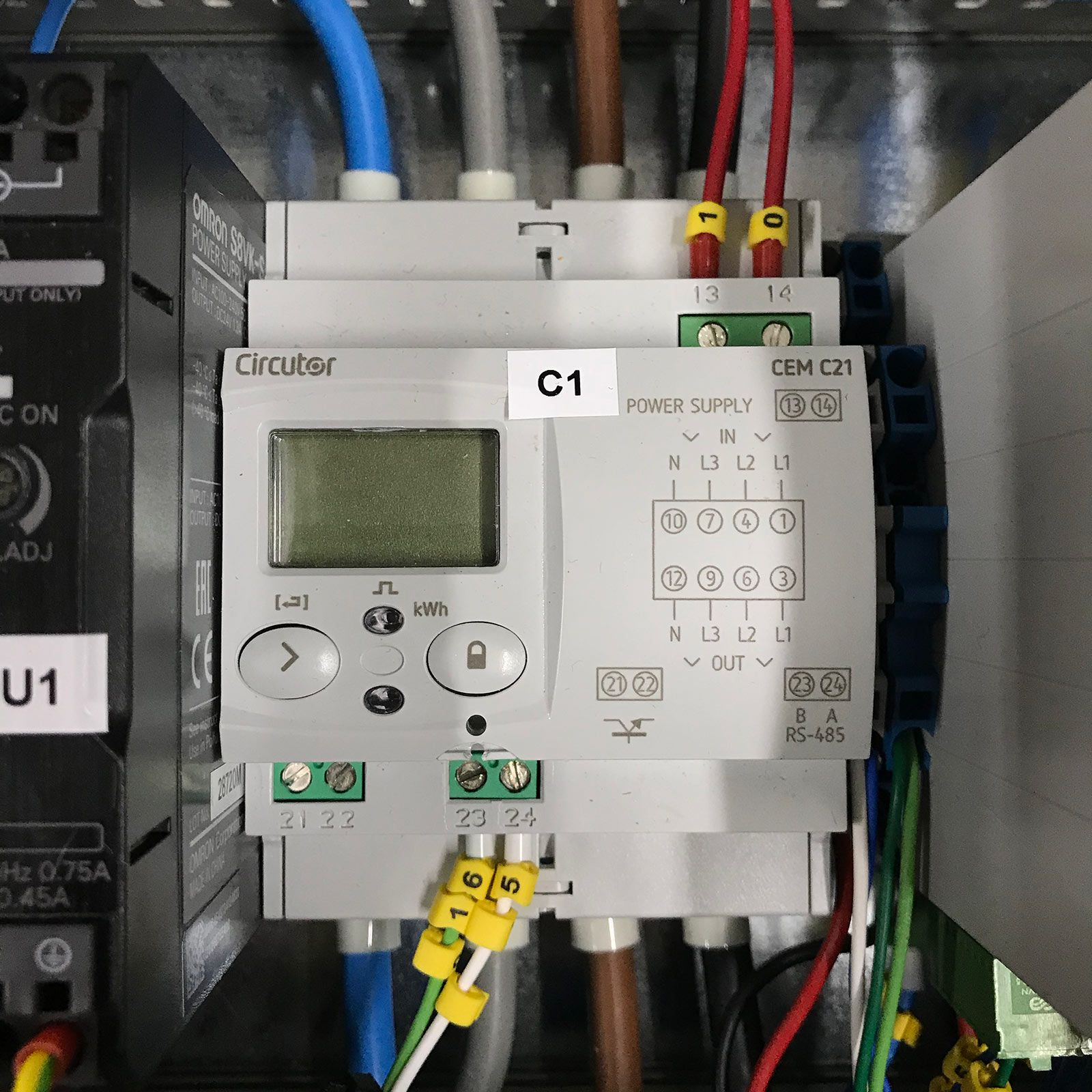 Smart Light Controller - Full Electric Cabinet