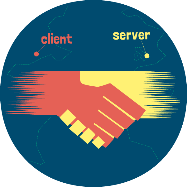 Connect server and client with TCP