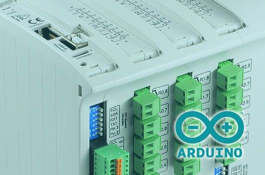 PLC Arduino for industrial labelling